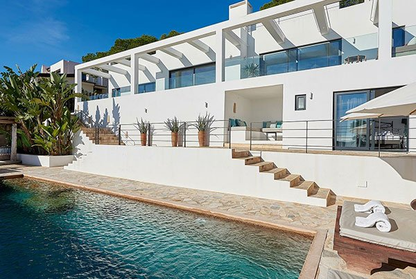 Your private swimming pool at Villa Larosa Ibiza